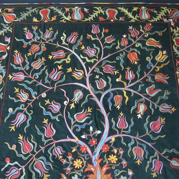 UZBEKISTAN TASHKENT traditional silk Suzani