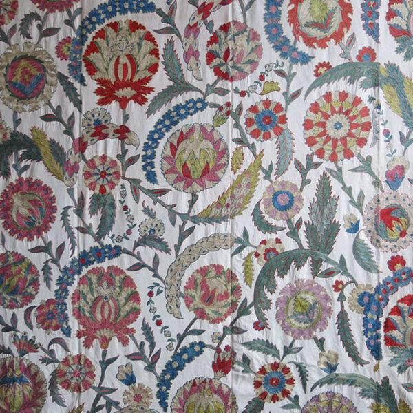 UZBEKISTAN – BOKHARA Nurata silk embroidery SUZANI
