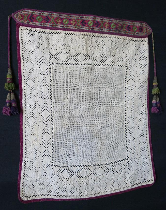 TAJIKISTAN – WAKHAN VALLEY – Pamiri tribal bridal veil
