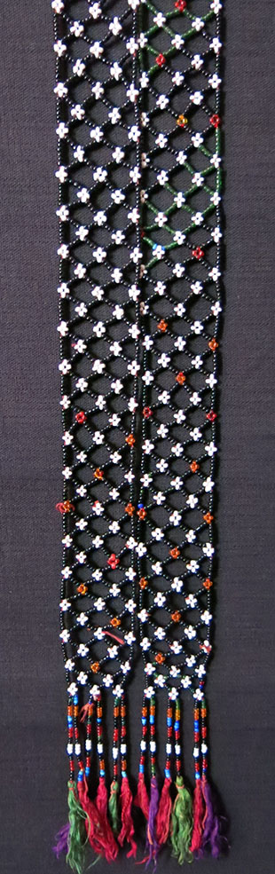 AFGHANISTAN – PASHTUN – KOOCHI beaded talisman hair decorations