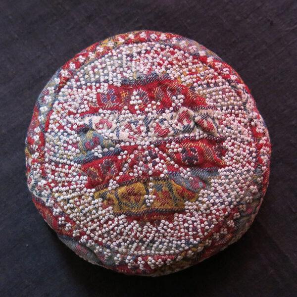 AZERBAIJAN ARAKHCHYN – Ordubad Village silk embroidery skullcap