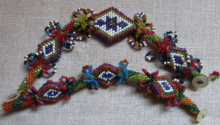ANATOLIAN AFYON TURKMEN tribal beaded child bracelets
