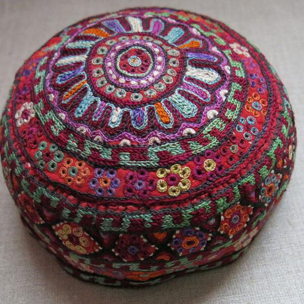 AZERBAIJAN - SHAHSAVAN ethnic silk embroidery hat