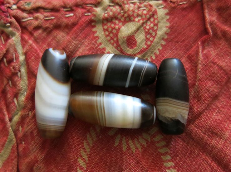 CONSTANTINOPLE - ISTANBUL SULEMANI AGATE healing BEADS