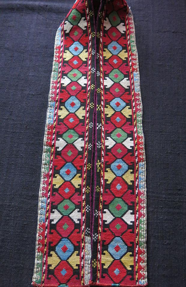 UZBEKISTAN LAKAI Silk embroidery belt