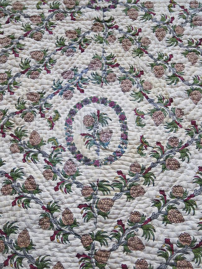 EAST ANATOLIA – TURKEY TOKAT hand block printed/painted Blanket