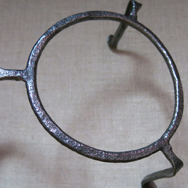 ANATOLIAN – Taurus mountains Turkmen hand forged open fire trivet