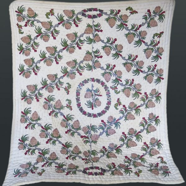 EAST ANATOLIA – TURKEY TOKAT hand block printed/painted Blanket