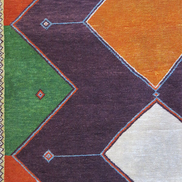 QASHKAI GABBEH design all wool Anatolian rug