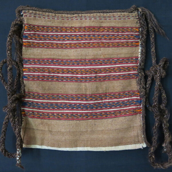 MIDDLE AMU DARYA TURKMEN shepherd's kilim shoulder bag