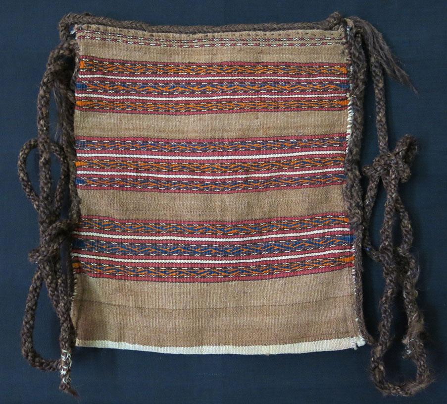 MIDDLE AMU DARYA TURKMEN shepherd's kilim shoulder bag