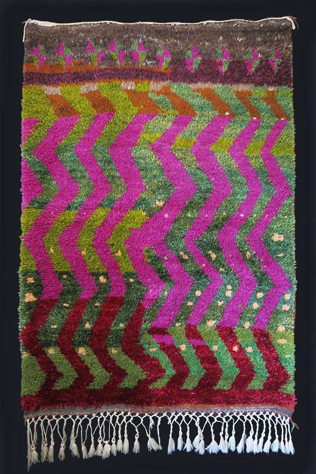 TURKISH KONYA KARAMAN Angora wool tribal rug