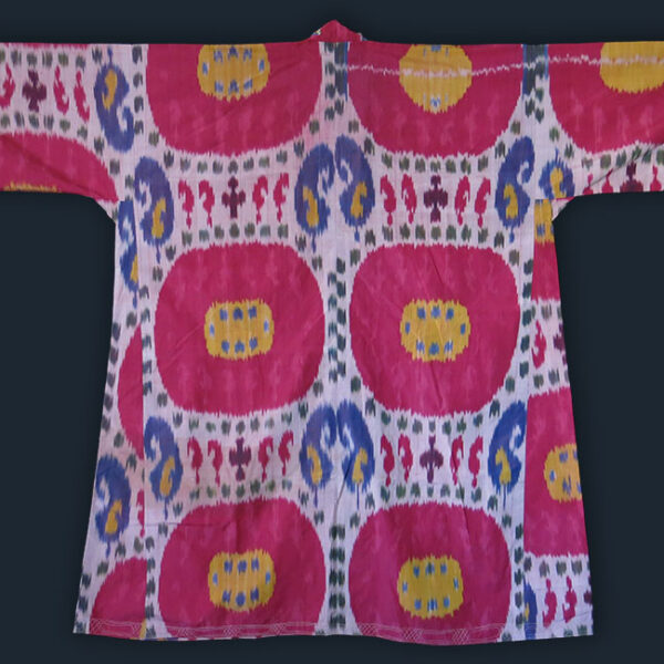 UZBEKISTAN – BOKHARA silk on silk Ikat women's shirt – Kurta