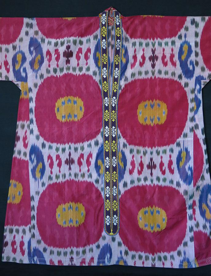 UZBEKISTAN – BOKHARA silk on silk Ikat women's shirt – Kurta