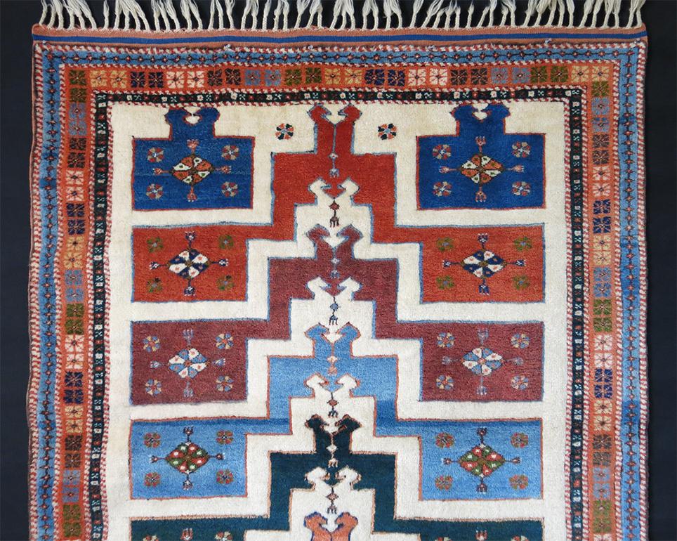 WESTERN TURKEY - AYVACIK DOBAG all wool VILLAGE rug