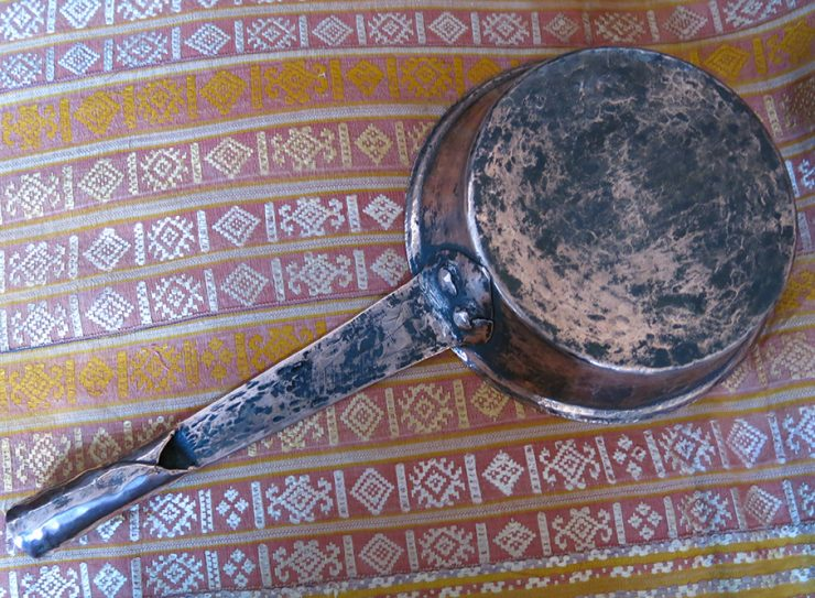 ANATOLIAN - TOKAT hand forged copper pan
