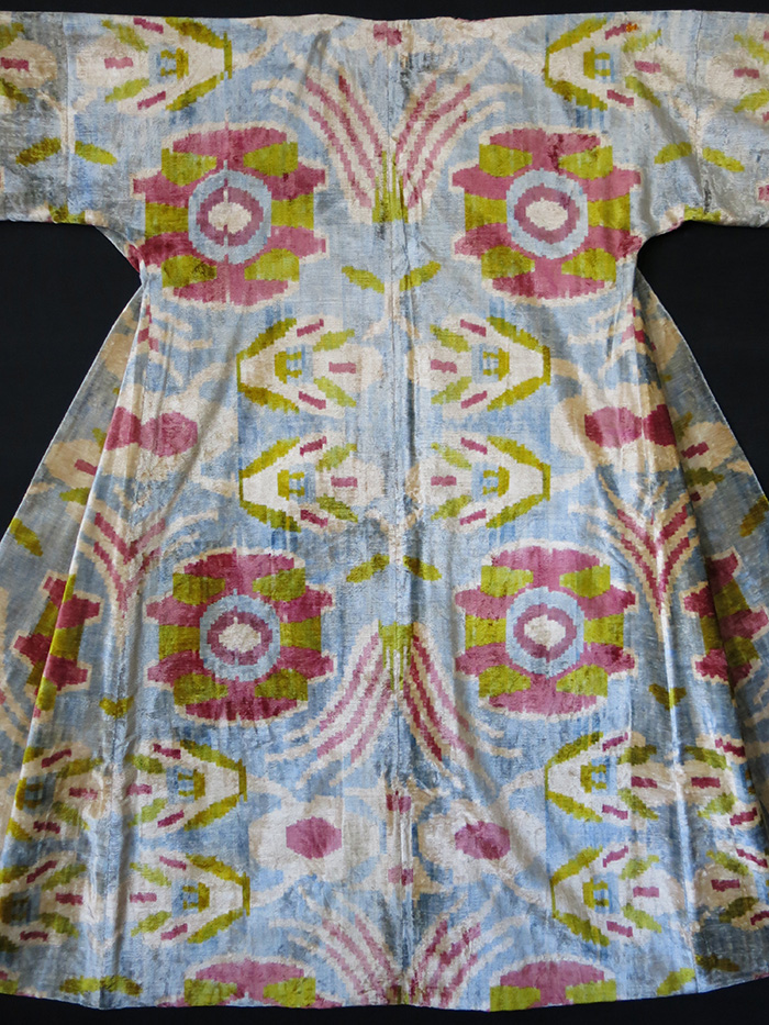 UZBEKISTAN – FARGAN VALLEY Ottoman design Silk Velvet Chapan / Caftan