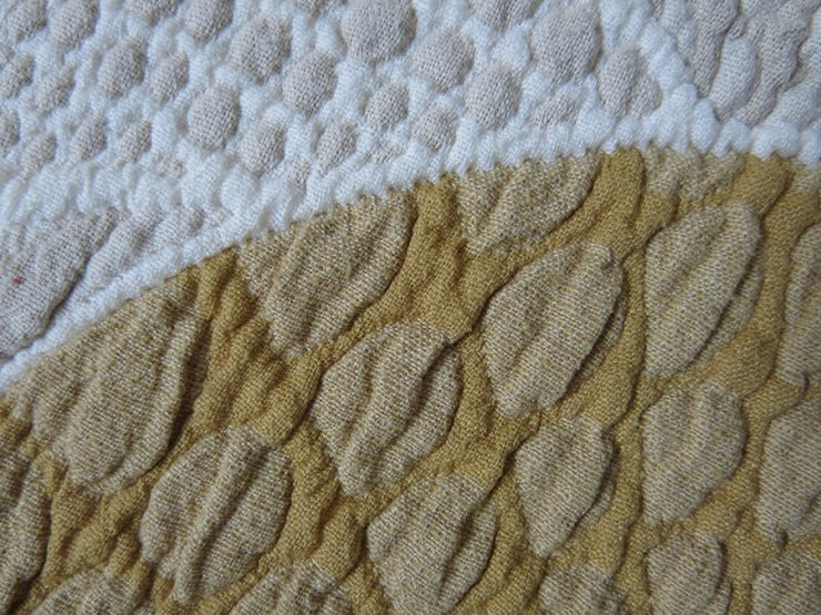 EUROPE - Both side quilted cotton blanket