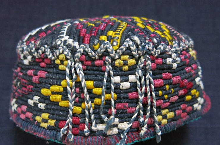 AFGHANISTAN Yomud Turkmen child hat