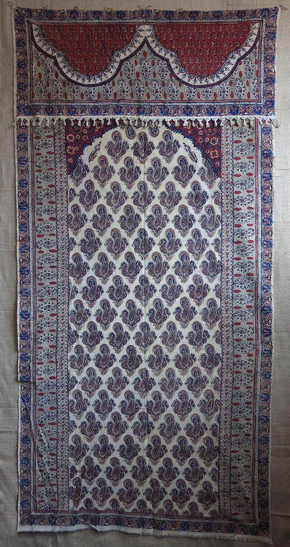 PERSIA ISFAHAN cotton Block print Curtain