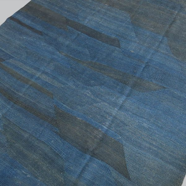 EASTERN TURKEY Mt. ARARAT Kurdish Indigo KILIM