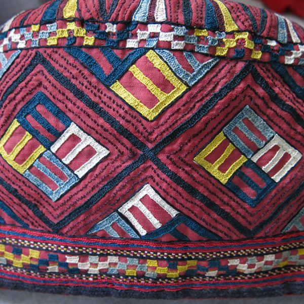CENTRAL ASIA Turkmenistan – TEKKE tribal and ceremonial hat