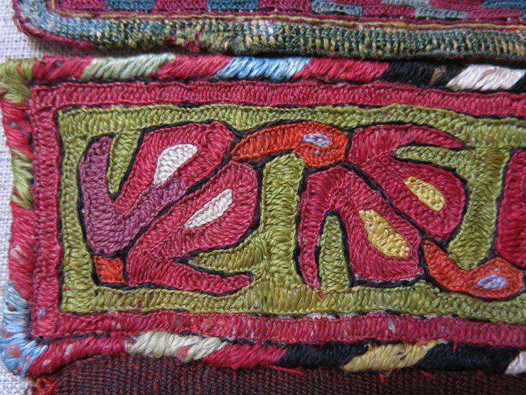 TURKMEN Silk embroidery trappings