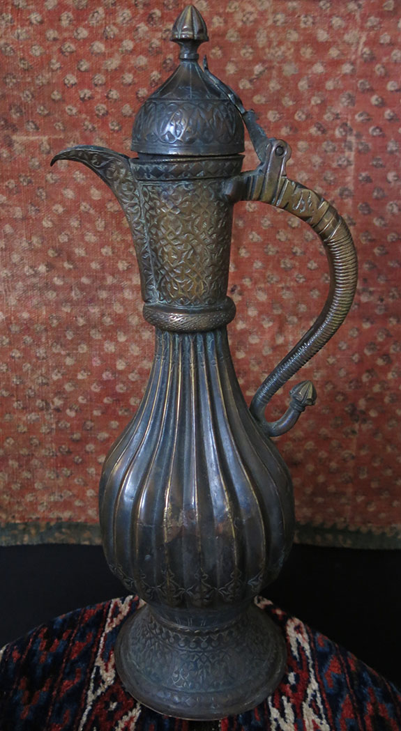 CENTRAL ASIA TURKMEN BOKHARA Copper EWER