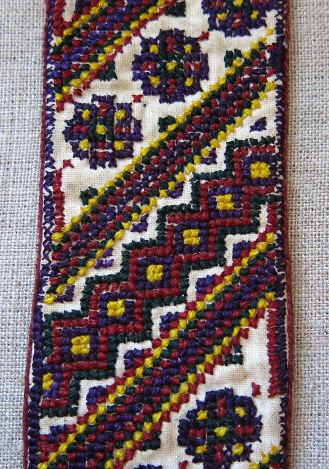 TURKMENISTAN – ASHGABAT Silk embroidery State Official men's ties