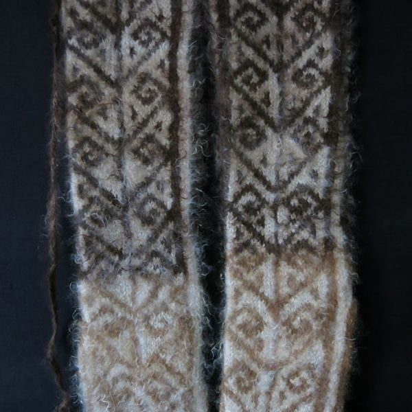 EASTERN TURKEY ERZURUM / KARS GOAT ANGORA WOOL WINTER SOCKS