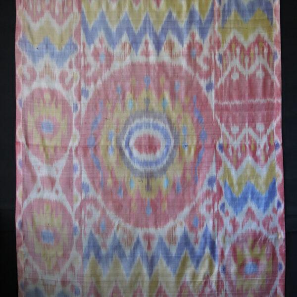 PERSIA YAZD single piece Silk Ikat PANEL