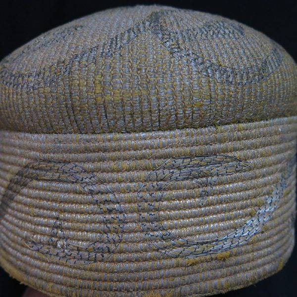 AFGHANISTAN – KHYBAR PASS Metallic embroidered ethnic hat