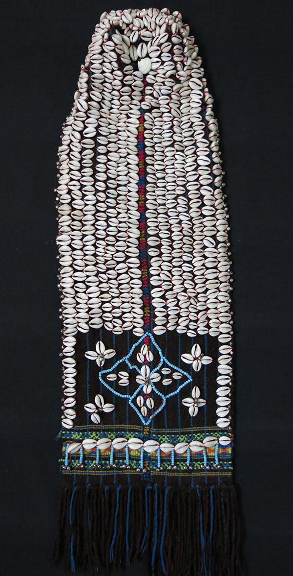 NORTH PAKISTAN CHITRAL KALASH tribe head dress