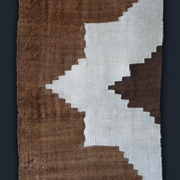 EASTERN TURKEY – SIIRT Kurdish angora kilim blanket panel