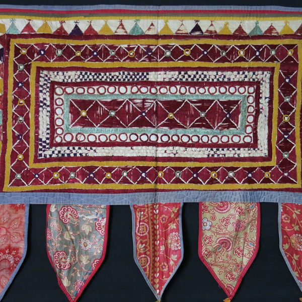 INDIA – GUJARAT – Antique ceremonial hanging Chalka