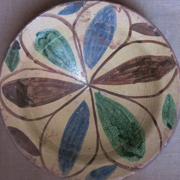 ANATOLIAN – TROY - CANAKKALE – Gallipoli antique glazed bowl / plate