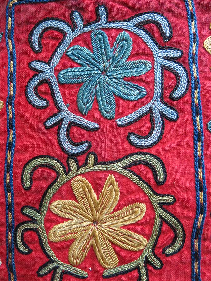 UZBEKISTAN WEST KUNGRAT KAICHIDON - Scissor bag