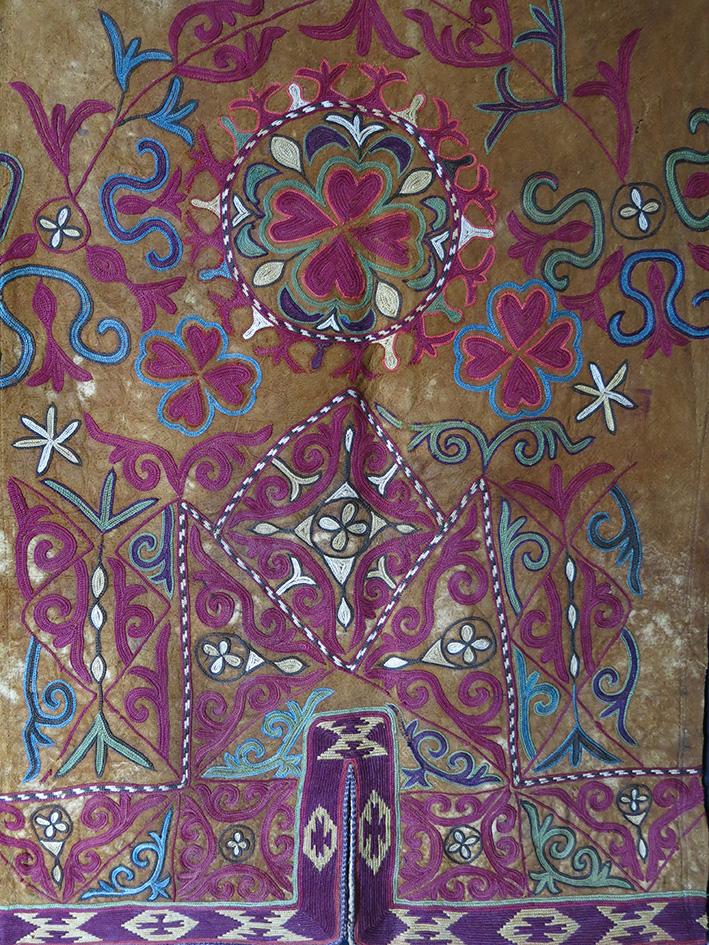 KAZAKH / KYRGYZ EAGLE HUNTER LEATHER PANTS fragment