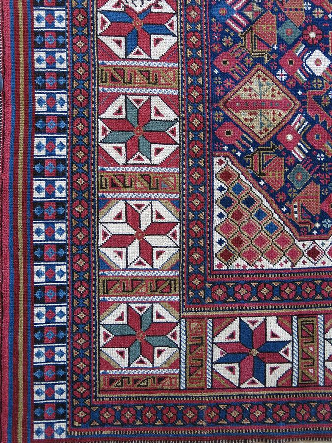 QASHKAI tribal squarish rug