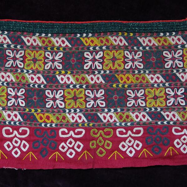 TURKMENISTAN CHODOR Turkmen Chapan / Coat cuff