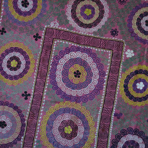 UZBEKISTAN SAMARKAND Silk embroidery Suzani