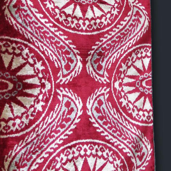 UZBEKISTAN - FARGAN VALLEY Silk revival VELVET IKAT
