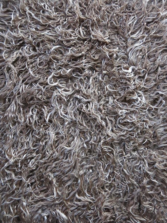 TURKISH KONYA SHAGGY / TULU small rug