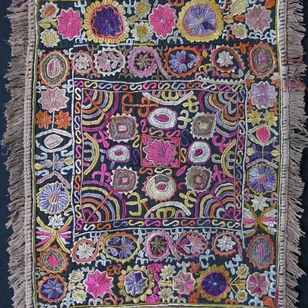 INDIA Tribal embroidery talisman hanging
