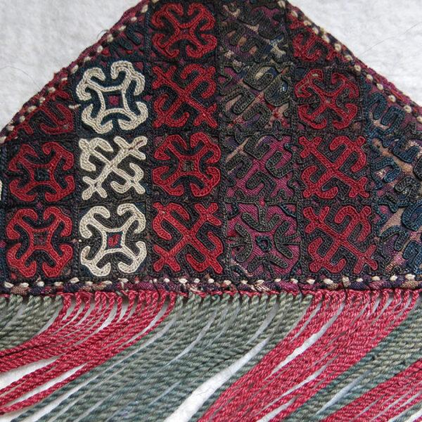 TURKMEN YOMUD Tribal TALISMAN hanging