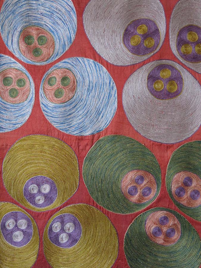 UZBEKISTAN SHEHRISABZ Silk embroidery hanging