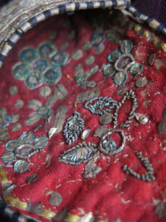 PERSIA SAFAVID – SURMADAN silk embroidery makeup bag