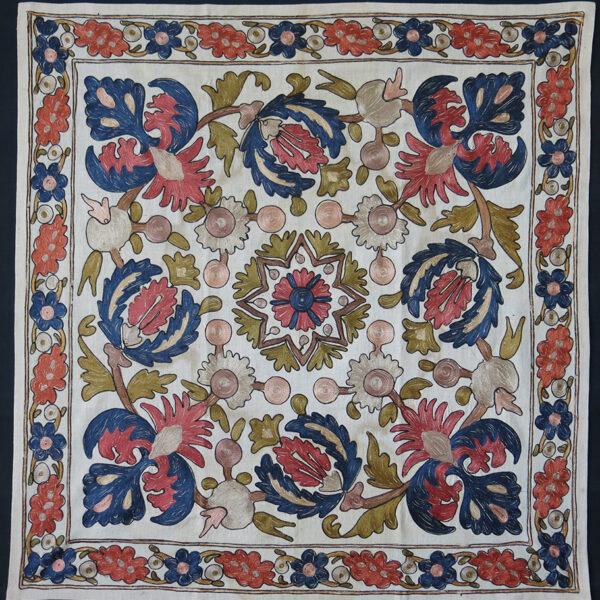 TRACE – EDIRNE OTTOMAN silk embroidery bokhca