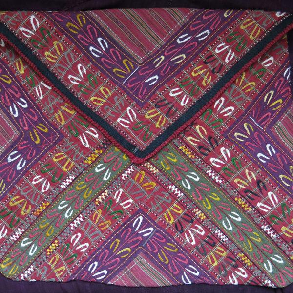 AFGHANISTAN Turkmen TEKKE Silk embroidery Bokhca