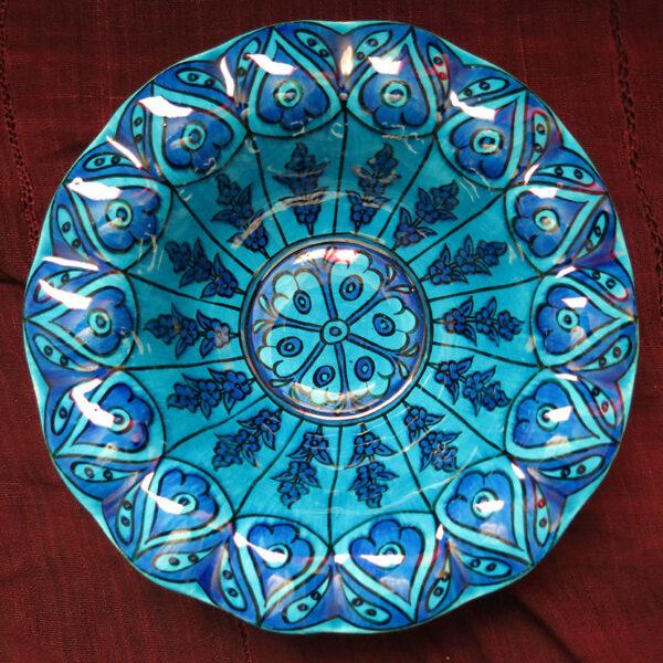 TURKEY KUTAHYA – SITKI OLCAR ceramic glazed plate